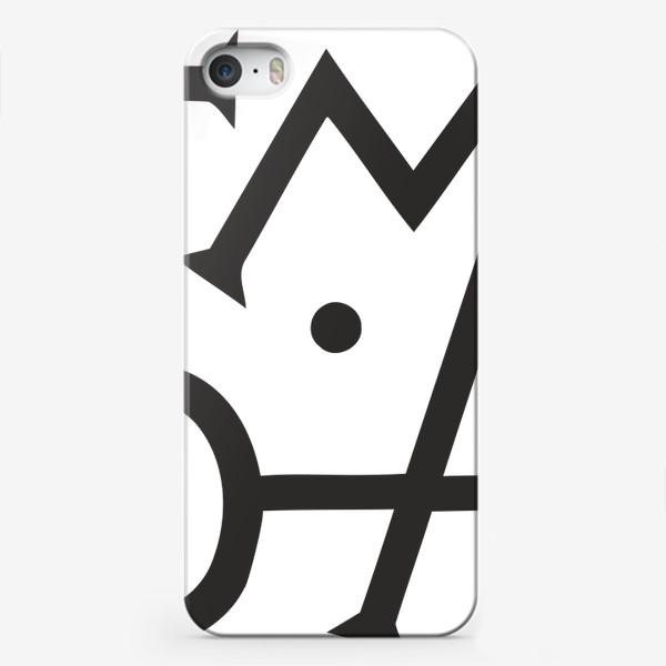 Чехол iPhone «Темно»