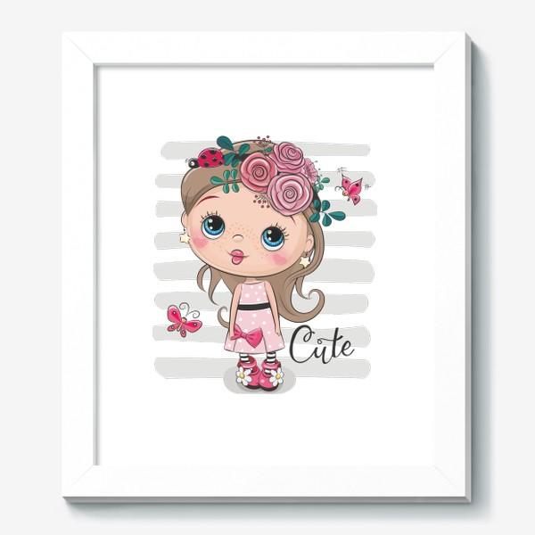 Картина «Маленькая Принцесса Цветок»