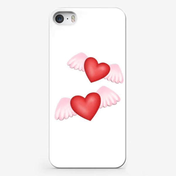 Чехол iPhone «Два сердца-одна любовь»