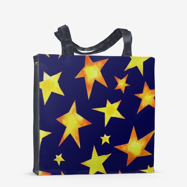 Сумка-шоппер «Звезды на небе»