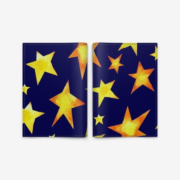 Обложка для паспорта «Звезды на небе»