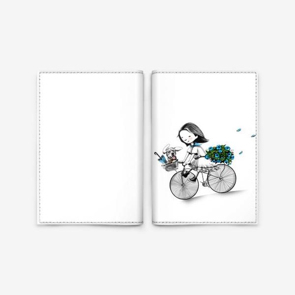Обложка для паспорта «Николь в Париже»