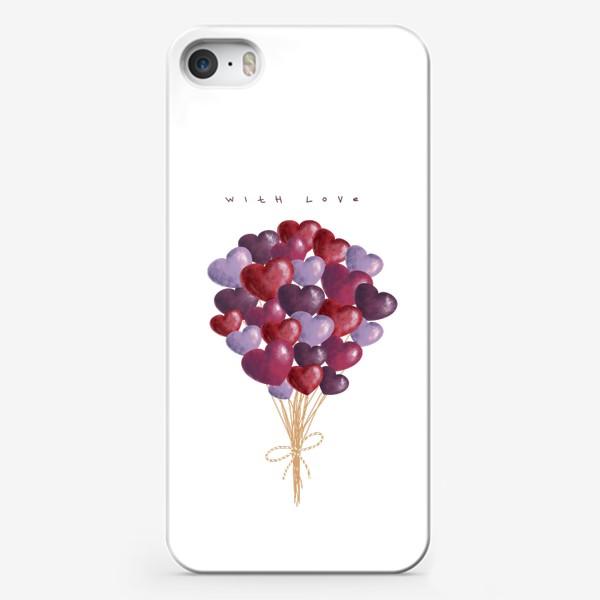 Чехол iPhone «with love»