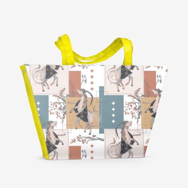 Пляжная сумка «Sebastian print»