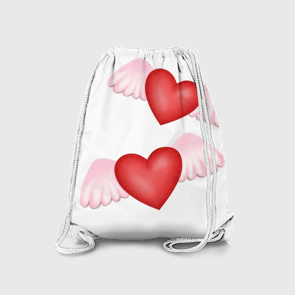 Рюкзак «Два сердца-одна любовь»