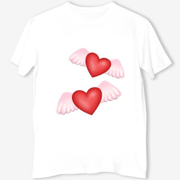 Футболка «Два сердца-одна любовь»
