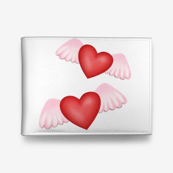 Кошелек «Два сердца-одна любовь»
