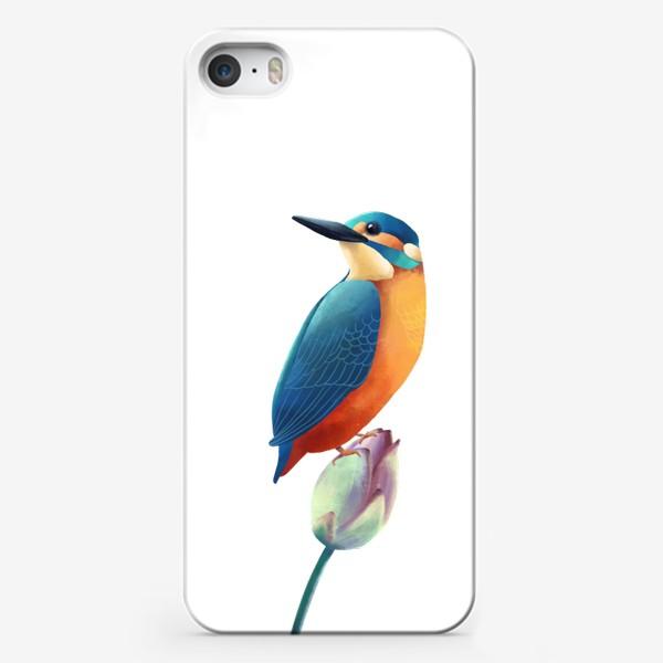 Чехол iPhone «зимородок»