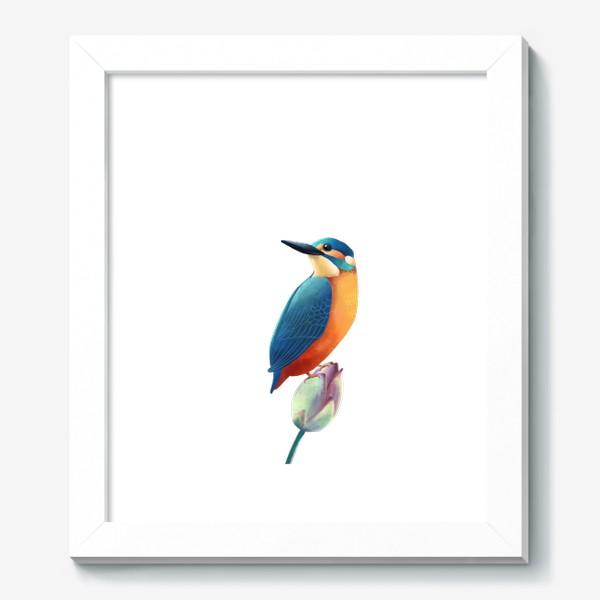 Картина «зимородок»