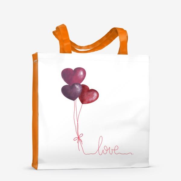Сумка-шоппер «love»