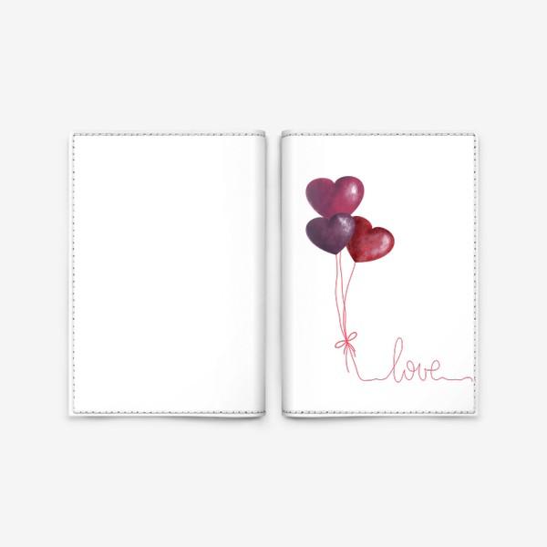 Обложка для паспорта «love»