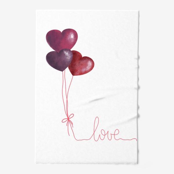 Полотенце «love»