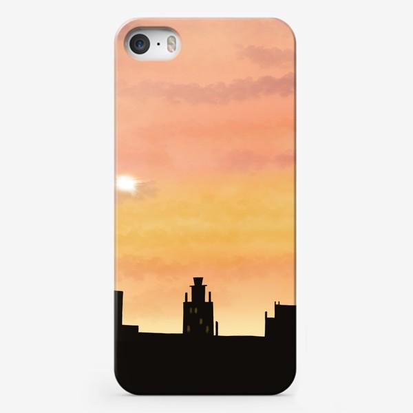 Чехол iPhone «Восход в городе»