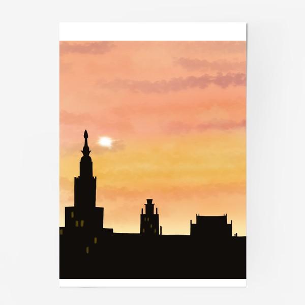 Постер «Восход в городе»