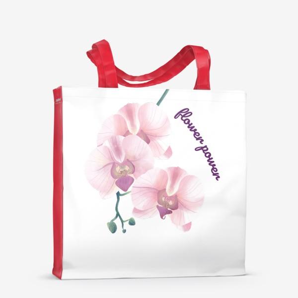Сумка-шоппер «розовая орхидея»