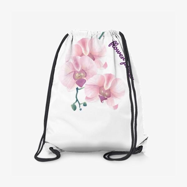 Рюкзак «розовая орхидея»