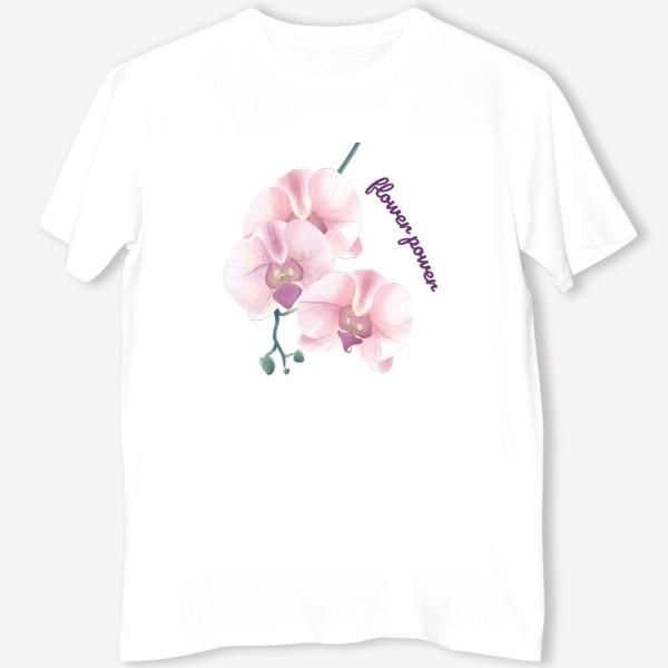 Футболка «розовая орхидея»
