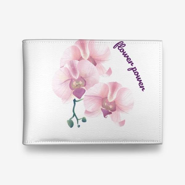 Кошелек «розовая орхидея»