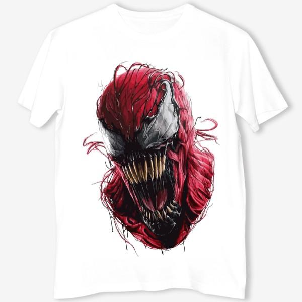 Футболка «Карнаж —  Один из заклятых врагов Человека-Паука и Венома»