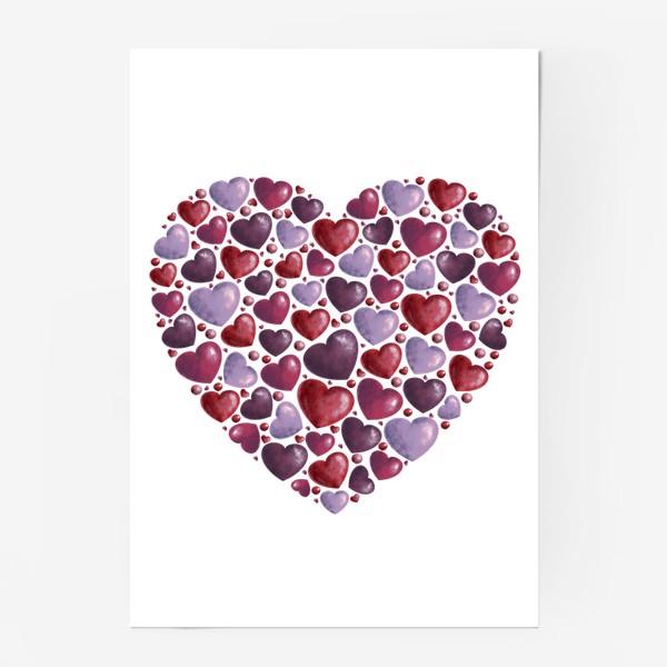 Постер «hearts»