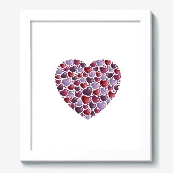 Картина «hearts»