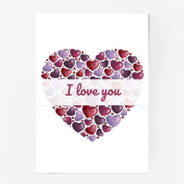 Постер «i love you»