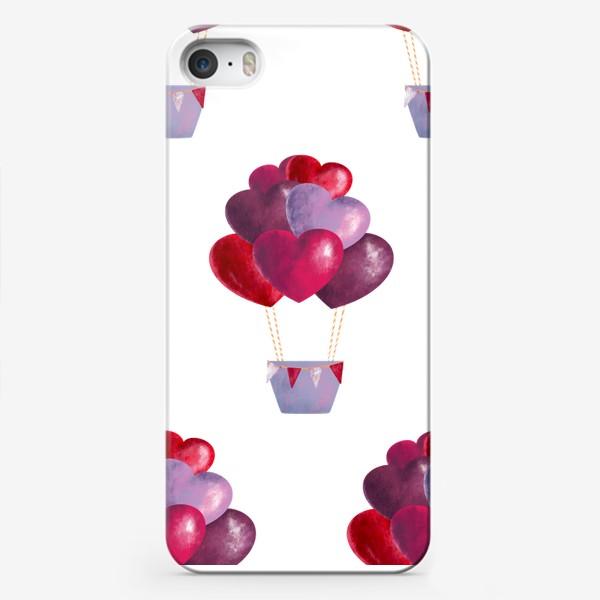 Чехол iPhone «паттерн воздушные шары»