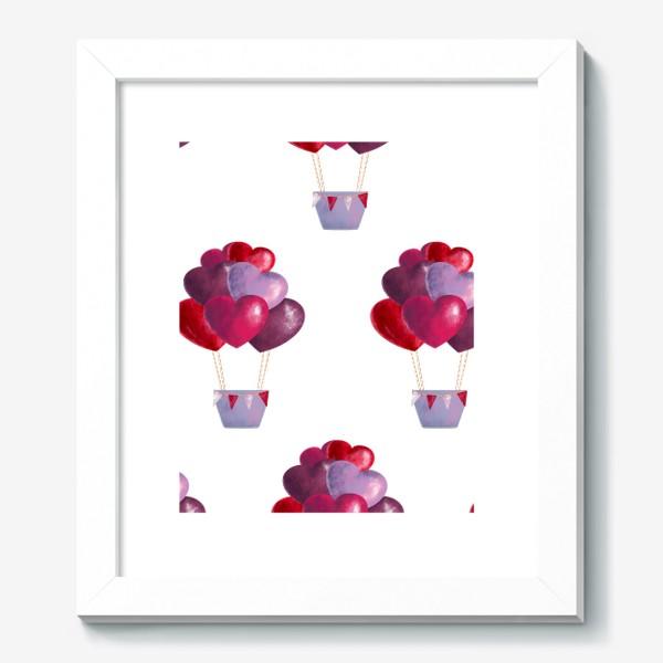 Картина «паттерн воздушные шары»