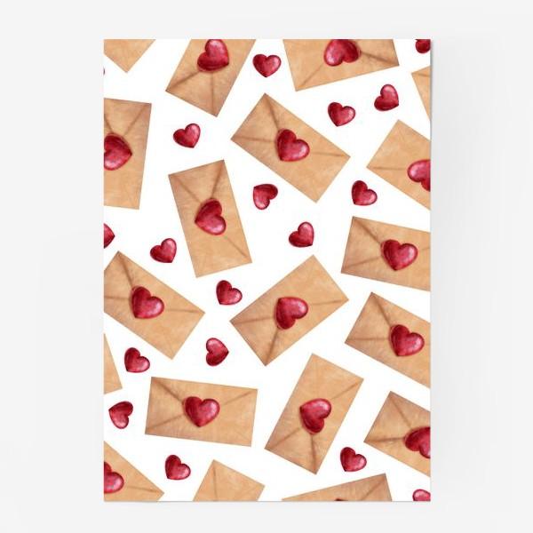 Постер «паттерн любовные письма»