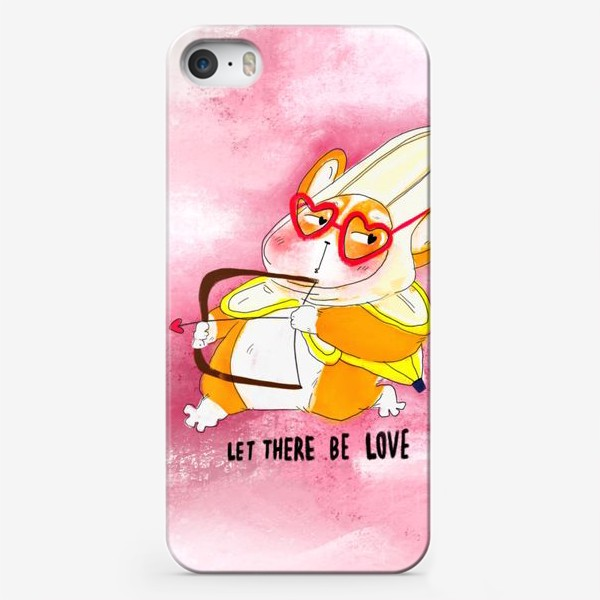 Чехол iPhone «Let there be love»