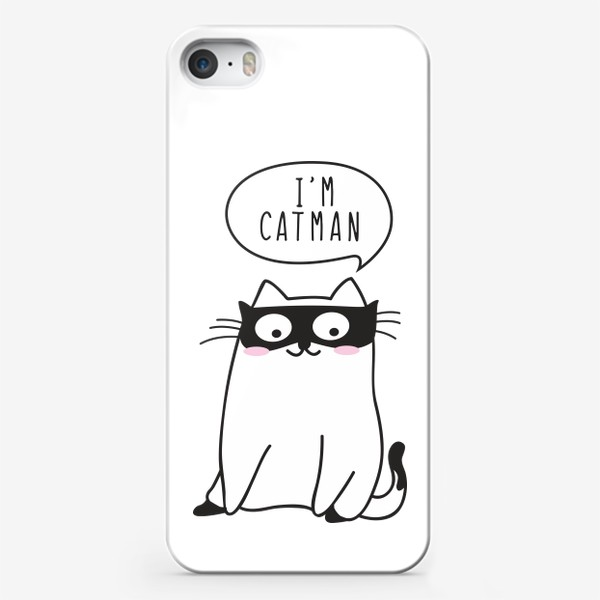 "Чехол iPhone «I""m CATMAN»"