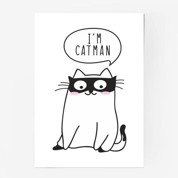 """Постер «I""""m CATMAN»"""
