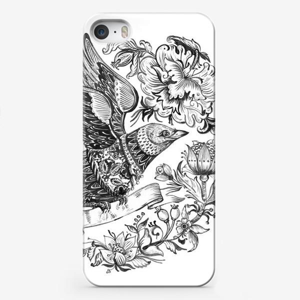 Чехол iPhone «Птица счастья»