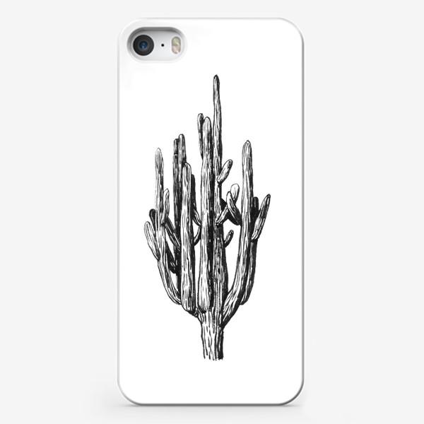 Чехол iPhone «Кактус»