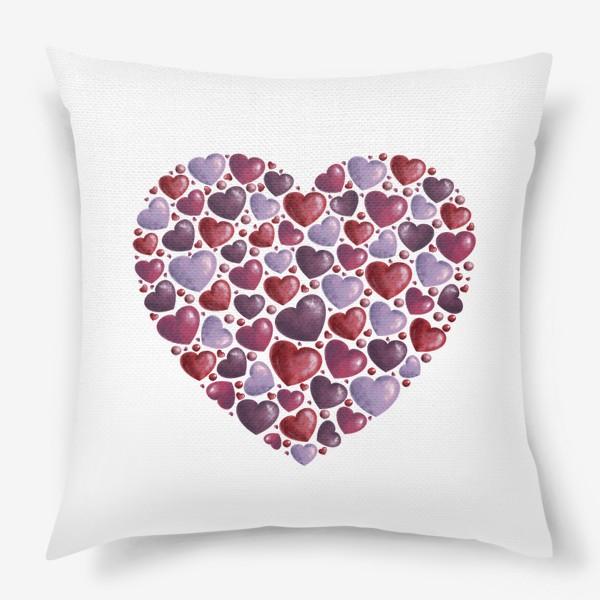 Подушка «hearts»