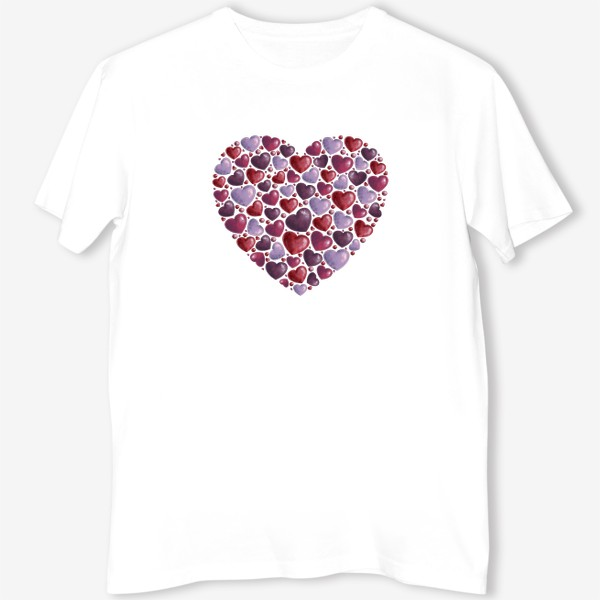 Футболка «hearts»