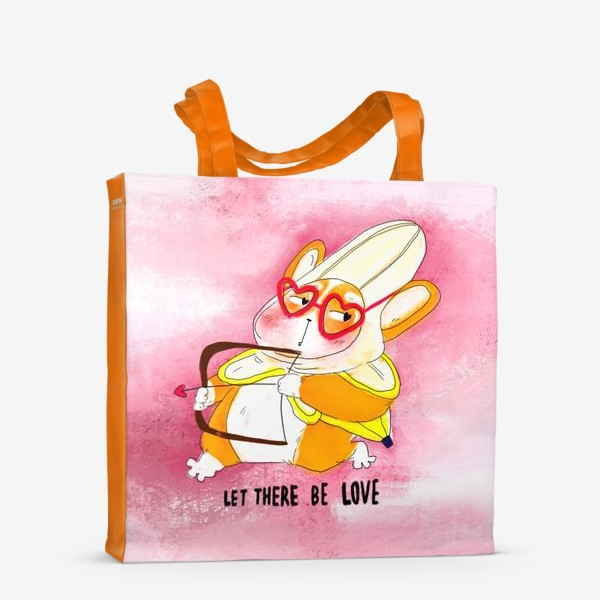 Сумка-шоппер «Let there be love»