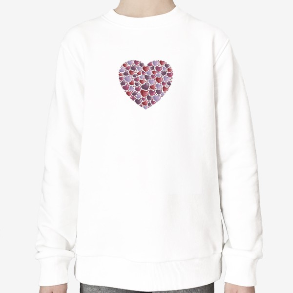Свитшот «hearts»