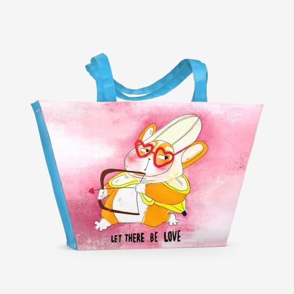 Пляжная сумка «Let there be love»