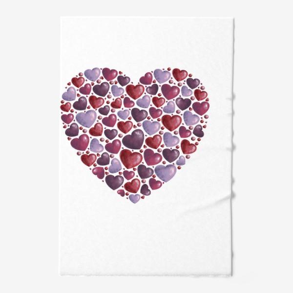 Полотенце «hearts»