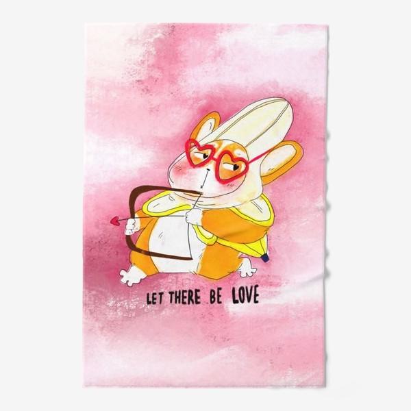 Полотенце «Let there be love»