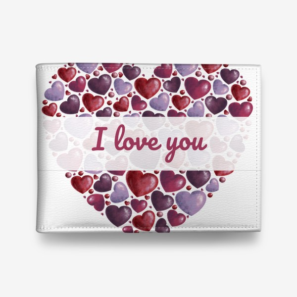 Кошелек «i love you»