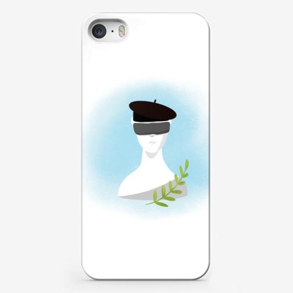 Чехол iPhone «Скульптура искусство »