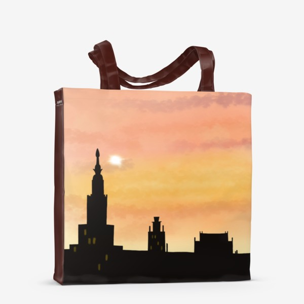 Сумка-шоппер «Восход в городе»