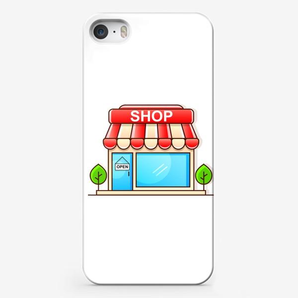 Чехол iPhone «Supermarket shopping »