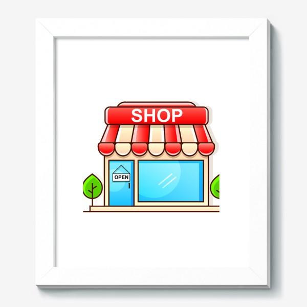 Картина «Supermarket shopping »