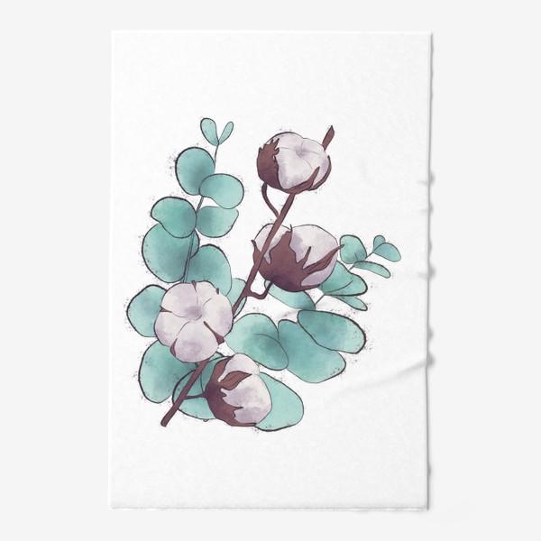 Полотенце «цветы»