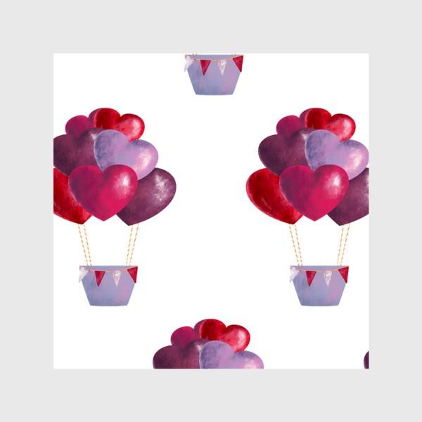 Шторы «паттерн воздушные шары»