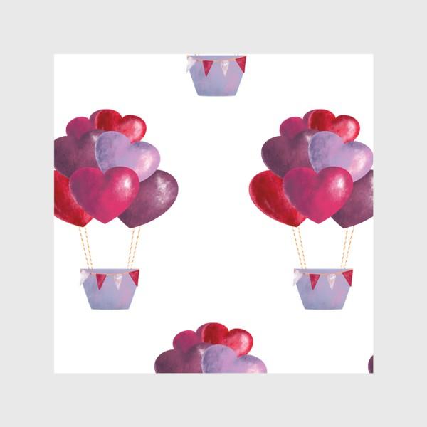 Скатерть «паттерн воздушные шары»