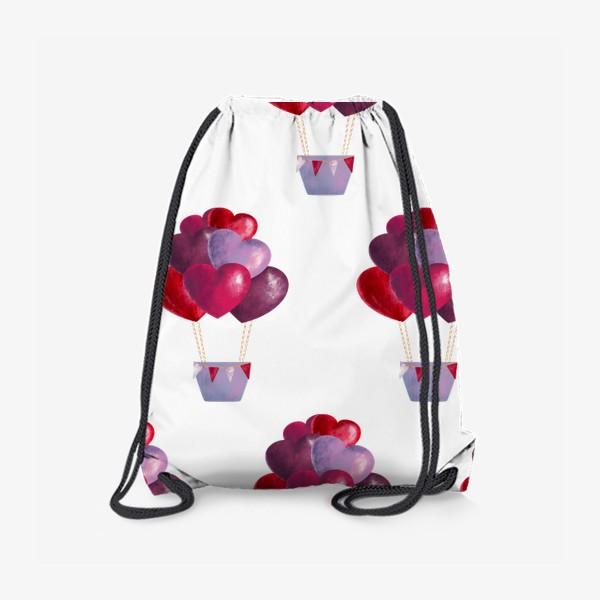 Рюкзак «паттерн воздушные шары»